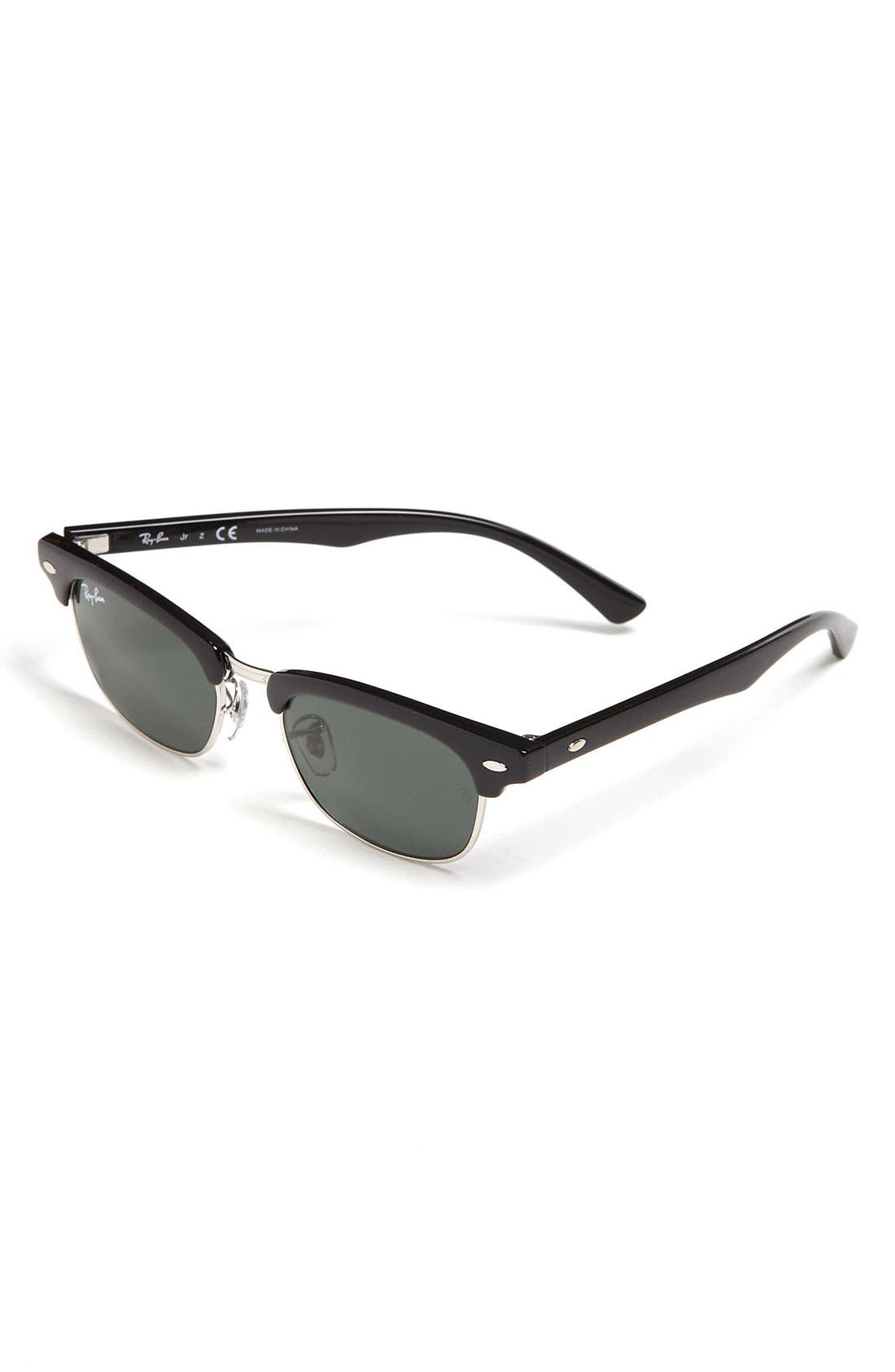 Alternate Image 1 Selected - Ray-Ban 'Clubmaster' 50mm Sunglasses (Big Boys)