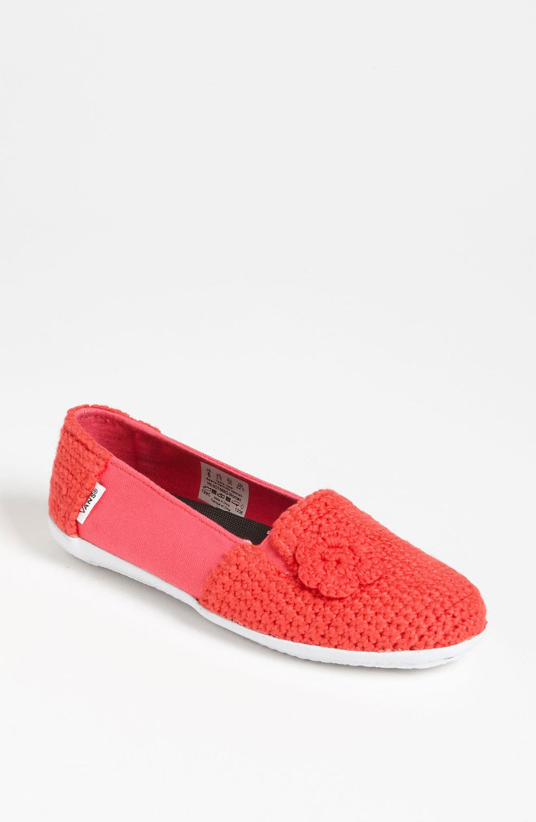 Main Image - Vans + Krochet Kids 'Bixie' Crochet Slip-On