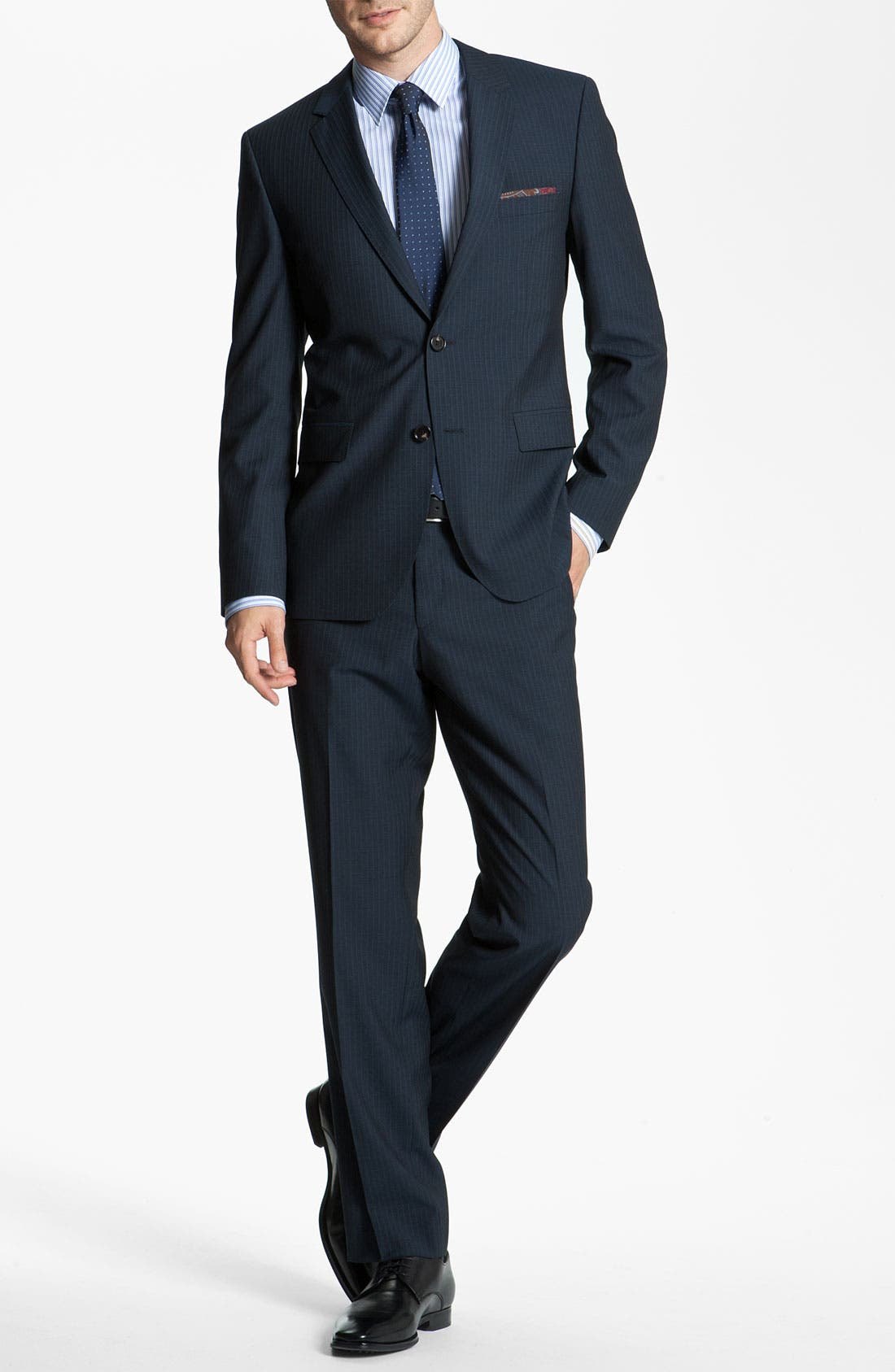 Alternate Image 2  - BOSS Black 'James/Sharp' Trim Fit Suit