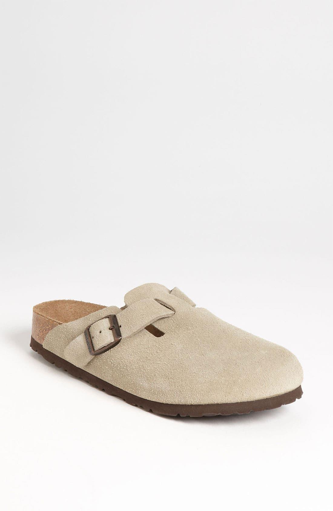 Alternate Image 1 Selected - Birkenstock 'Boston' Soft Footbed Clog (Women)