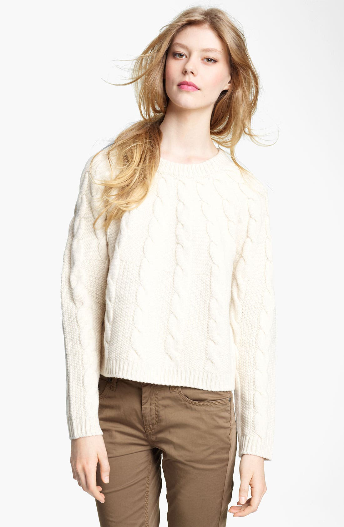 Alternate Image 1 Selected - Burberry Brit Knit Sweater