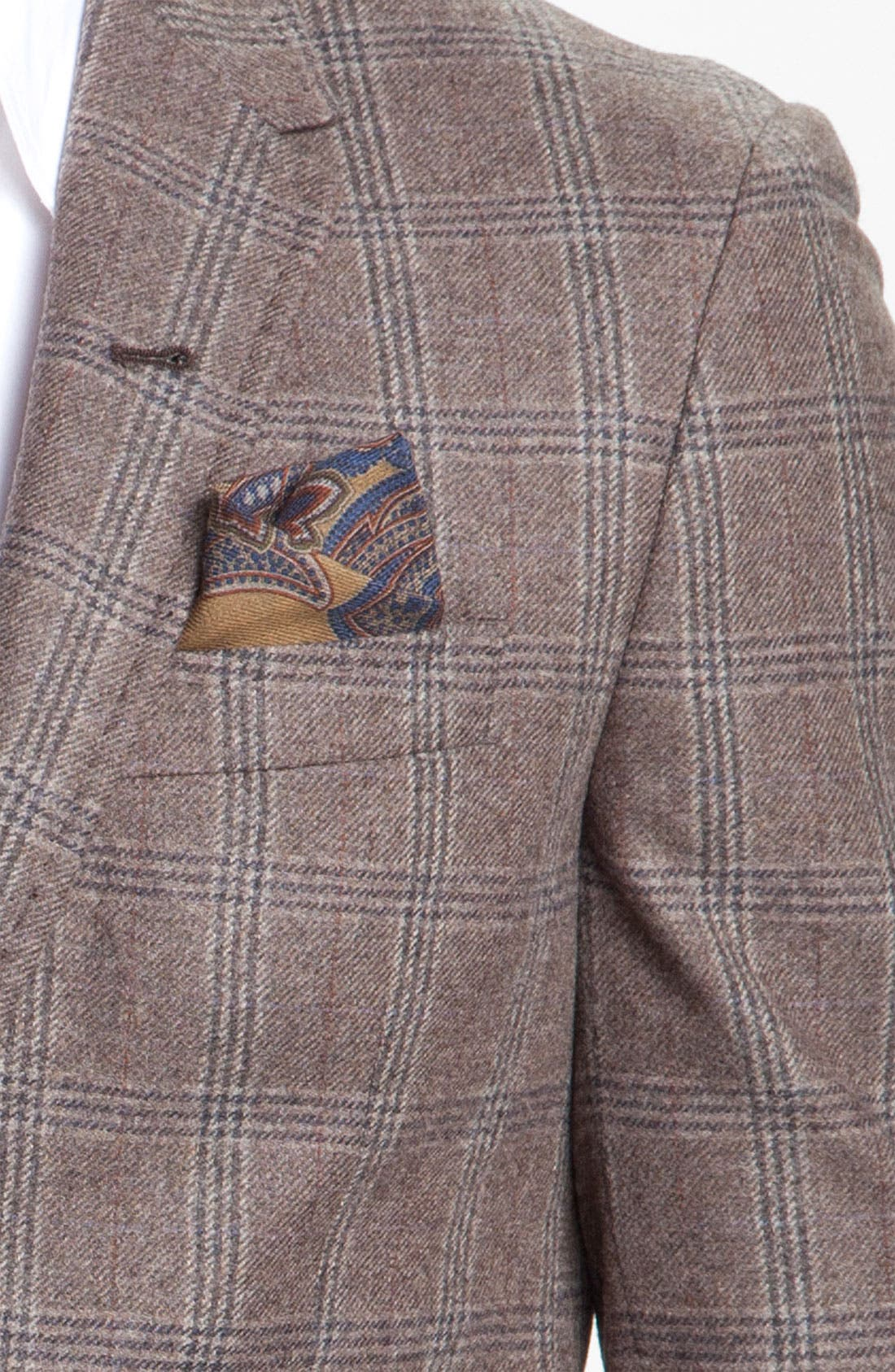 Alternate Image 3  - Paul Smith London Windowpane Plaid Blazer