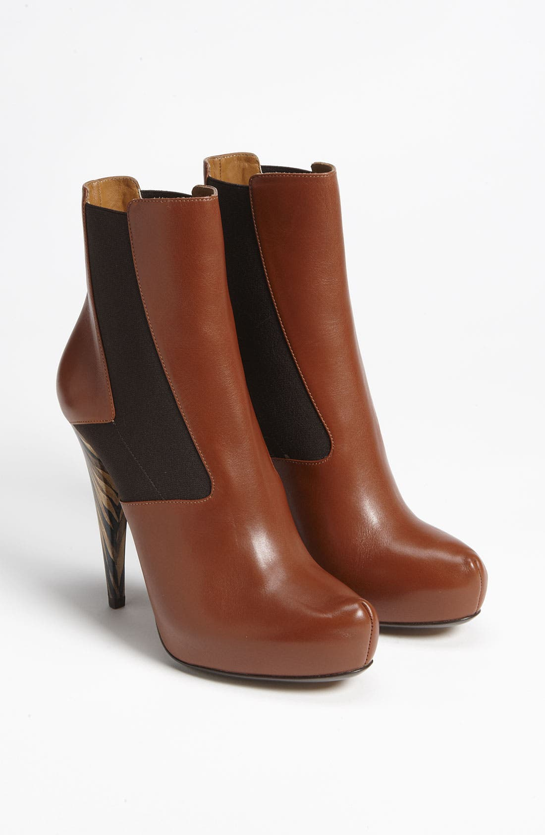Alternate Image 4  - Fendi 'Wuthering Heights' Gored Short Boot