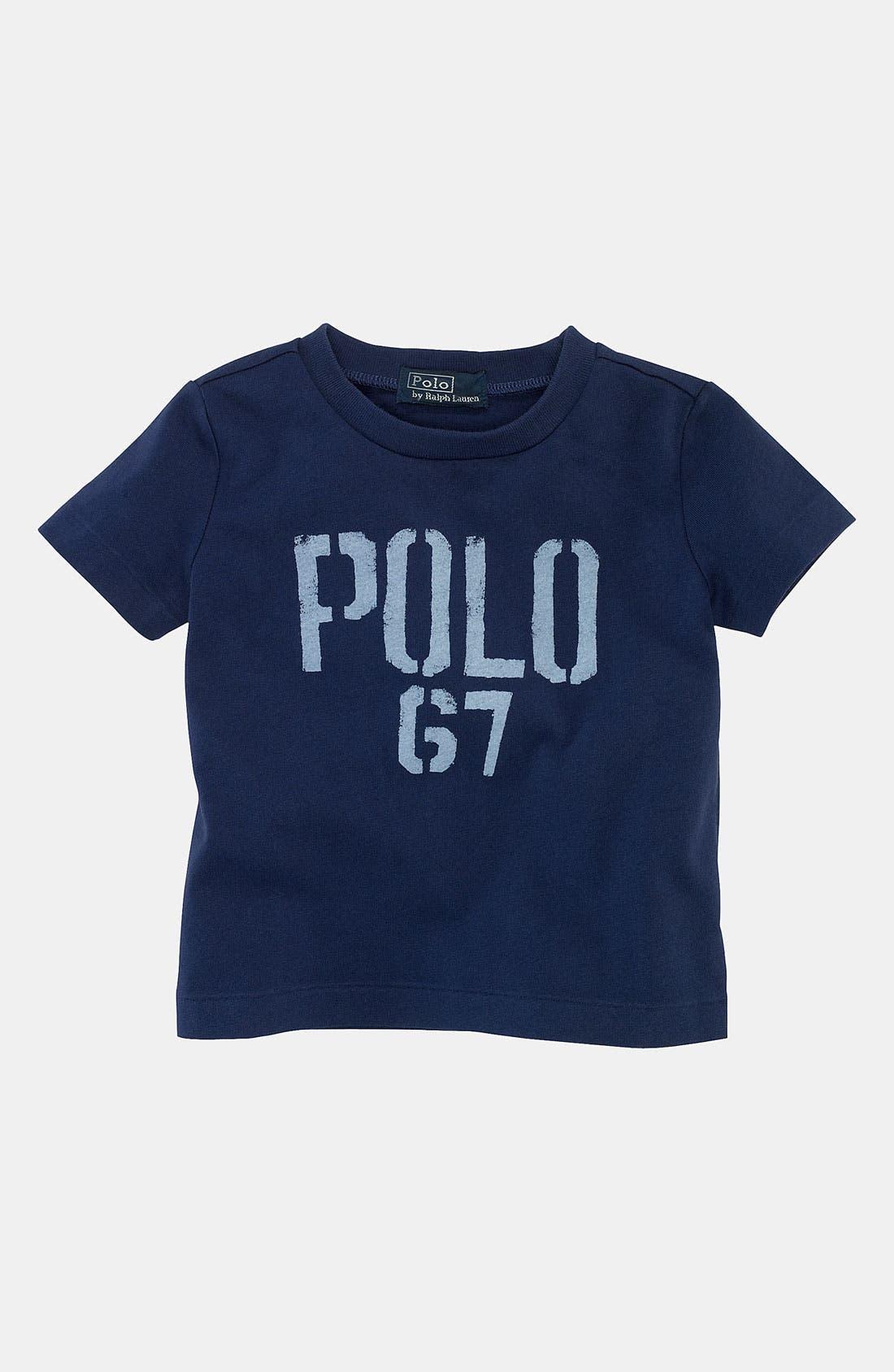 Alternate Image 1 Selected - Ralph Lauren T-Shirt (Infant)