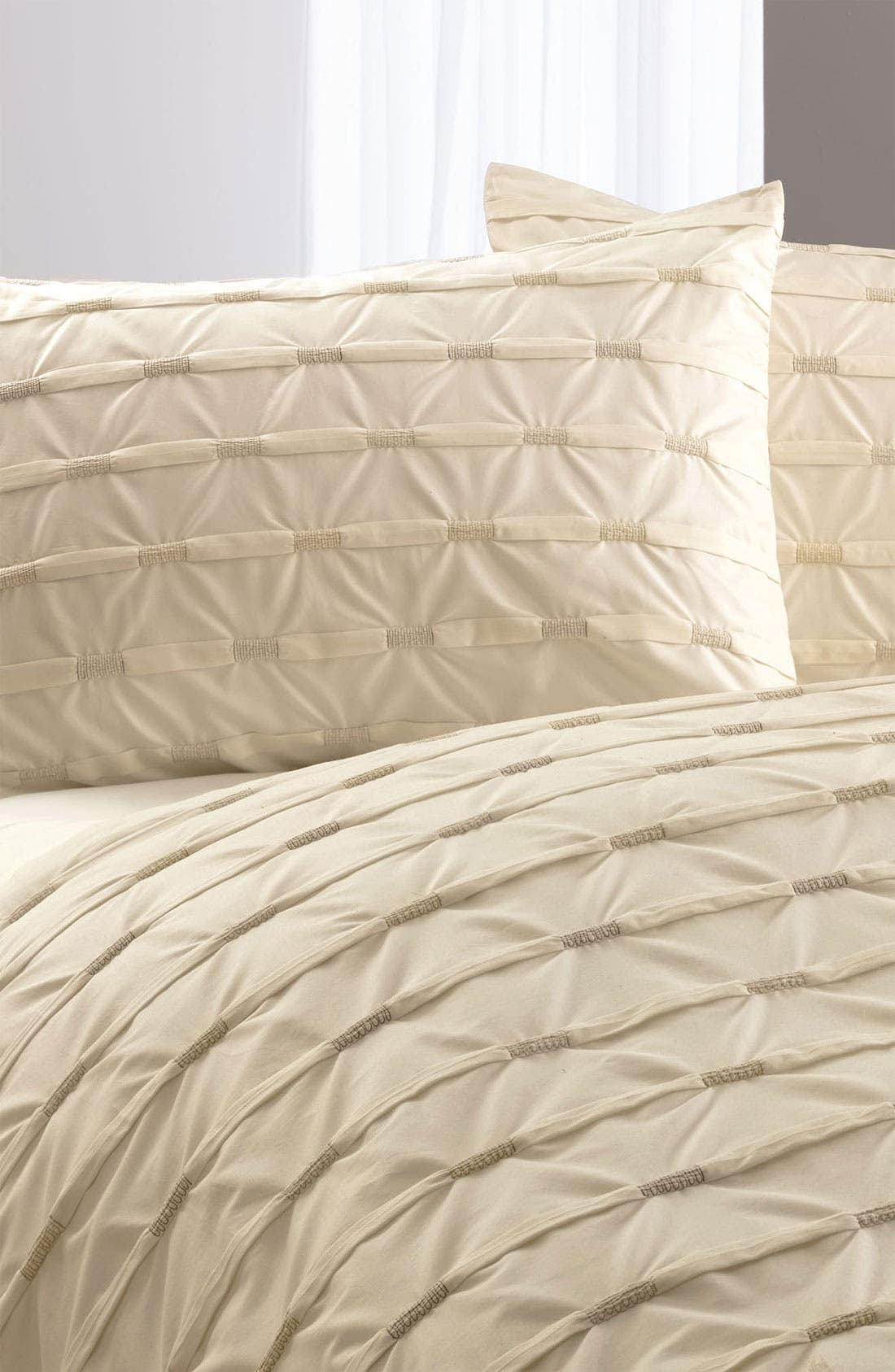 Alternate Image 1 Selected - Nordstrom at Home Wraparound Pleat Sham