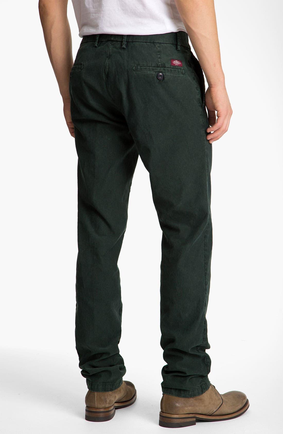 Alternate Image 2  - Mason's Washed Cotton Corduroy Pants