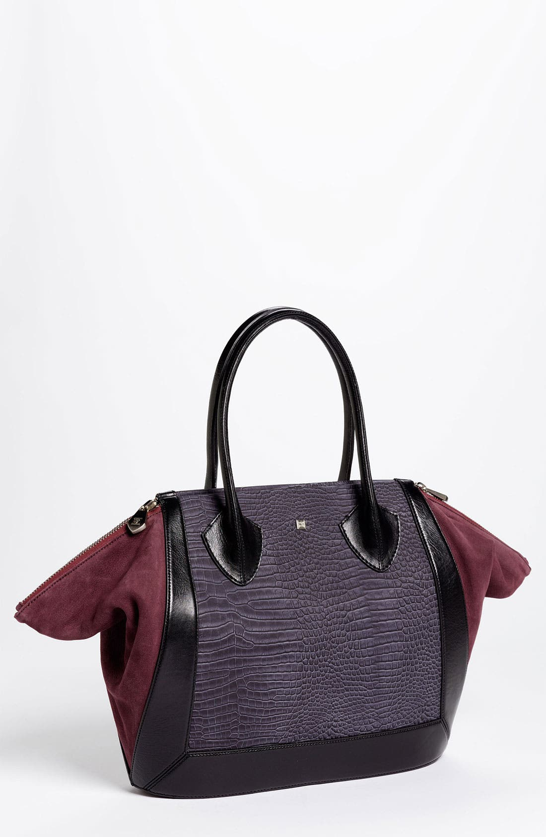 'Prado - Medium' Tote,                             Main thumbnail 1, color,                             Stone Croc
