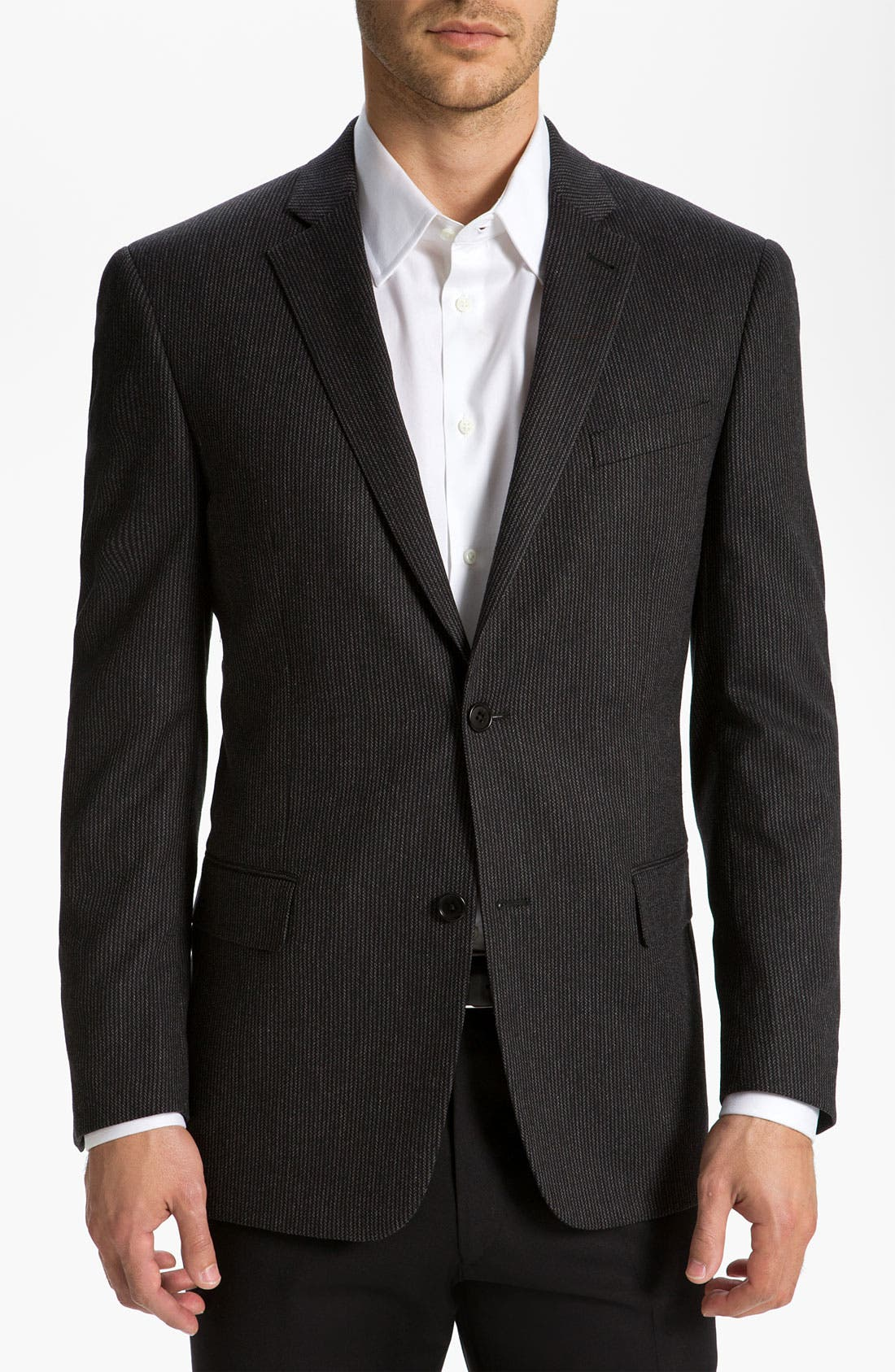 Alternate Image 1 Selected - John Varvatos Star USA 'Explorer' Stripe Blazer
