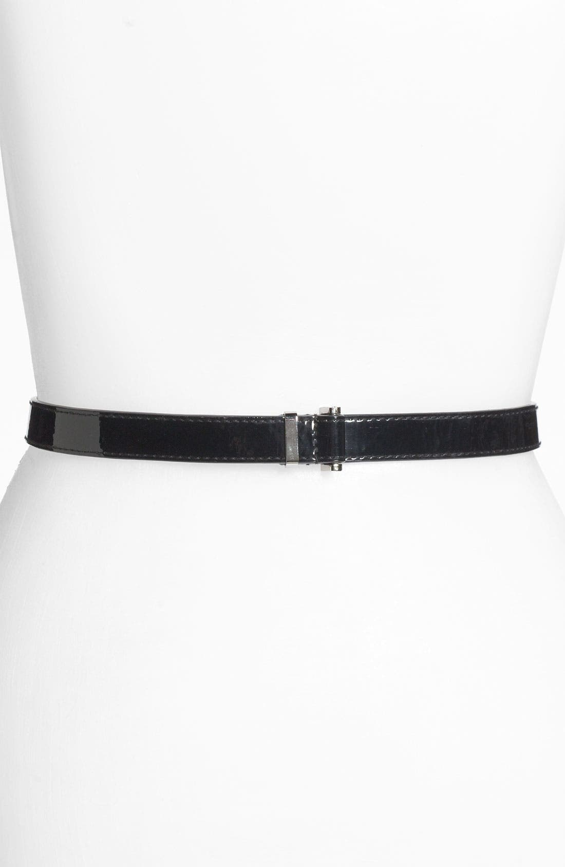 Alternate Image 1 Selected - WCM Patent Toggle Belt