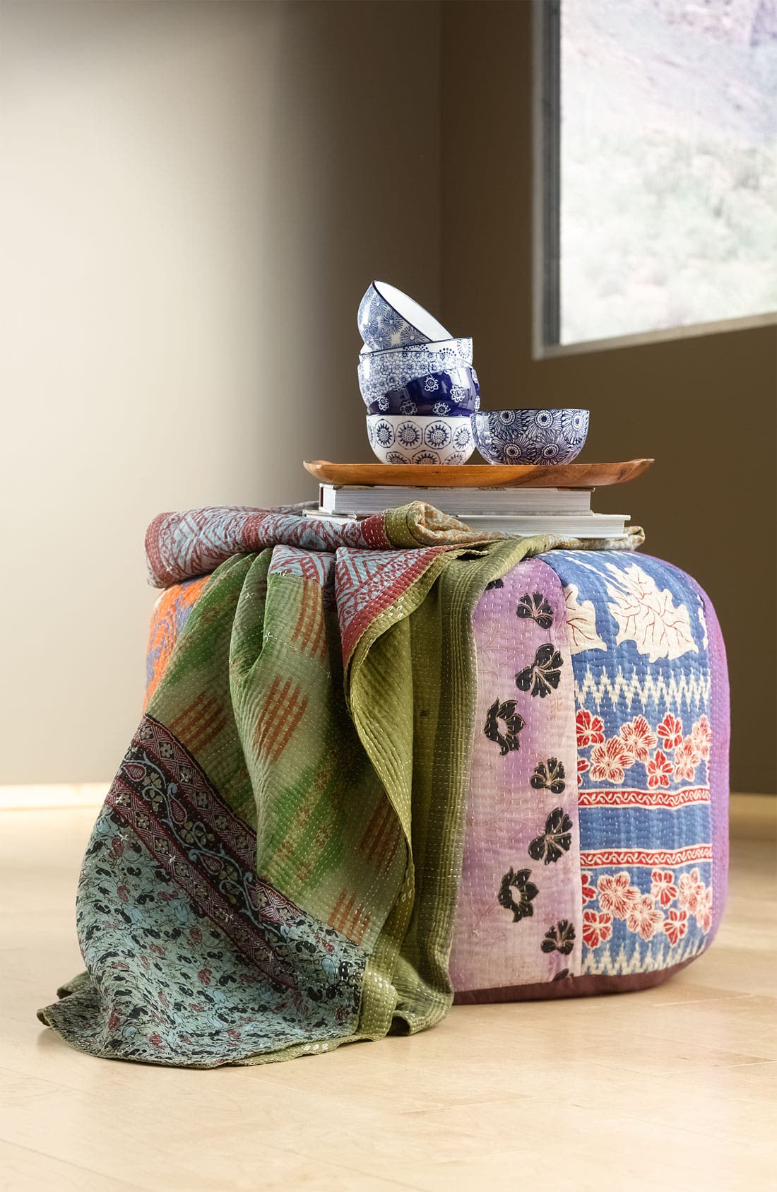 Alternate Image 2  - Kantha Hand Crafted Throw