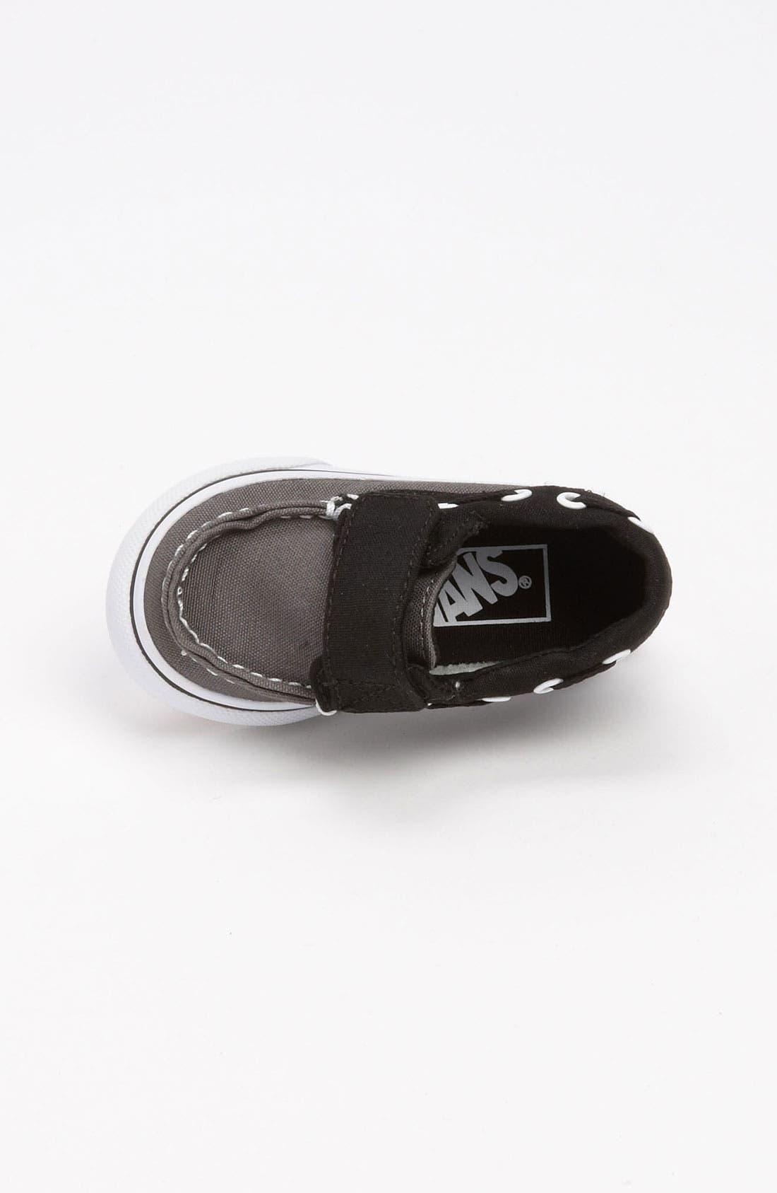 Alternate Image 3  - Vans 'Zapato del Barco V' Boat Shoe (Baby, Walker & Toddler)
