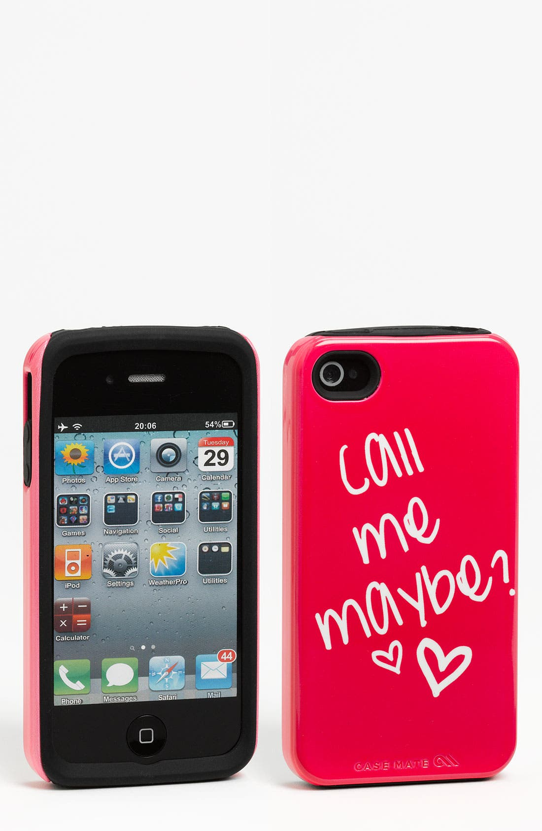 Alternate Image 1 Selected - Case-Mate® 'Call Me Maybe' iPhone 4 & 4S Case