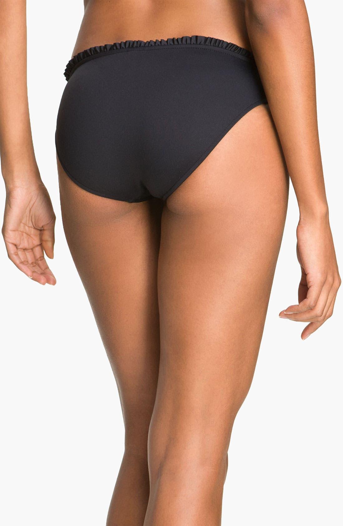 Alternate Image 2  - Seafolly Ruffle Hipster Bikini Bottoms