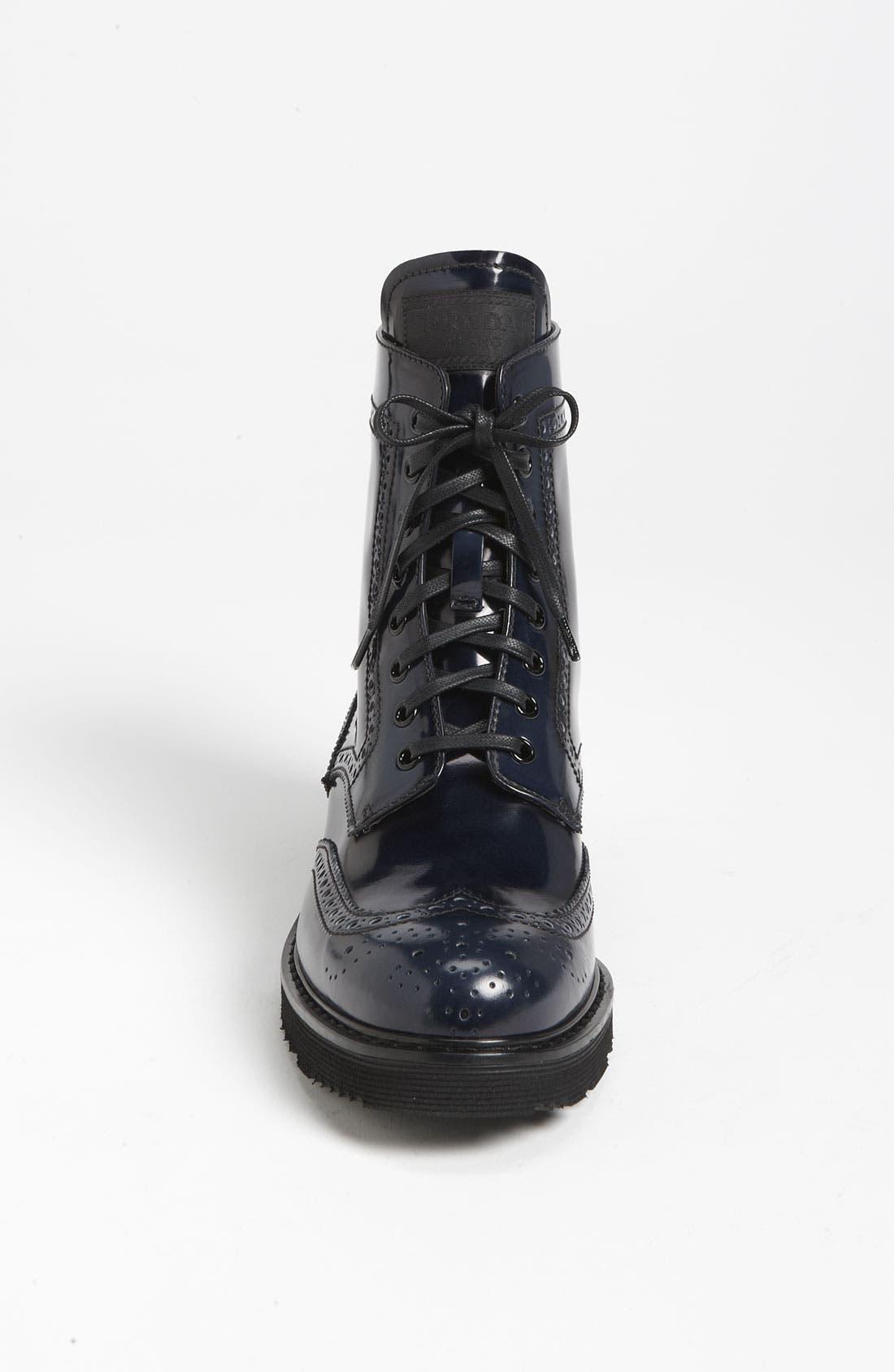 Alternate Image 3  - Prada Spazzolato Combat Boot