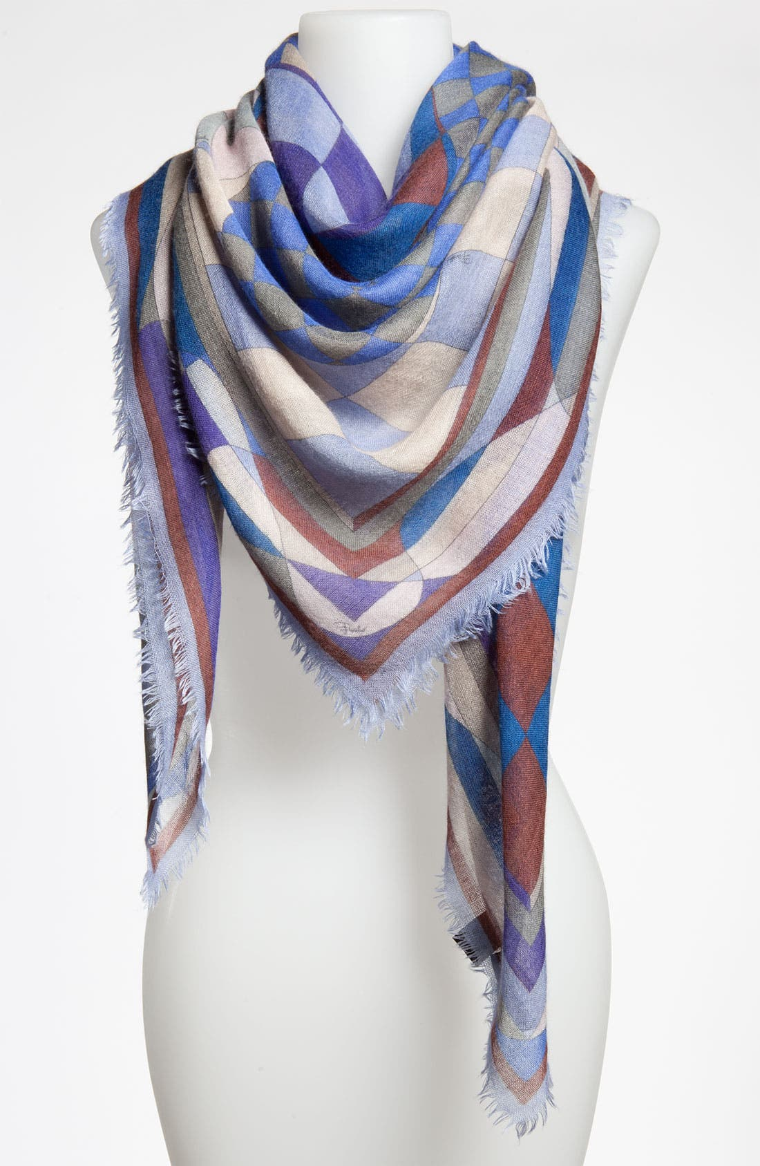 Alternate Image 1 Selected - Emilio Pucci 'Giardino' Cashmere & Silk Scarf