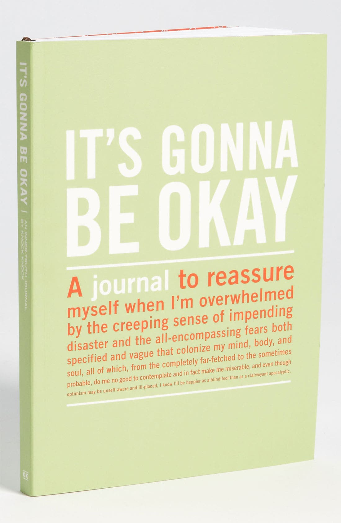Main Image - Knock Knock 'It's Gonna Be Okay' Journal