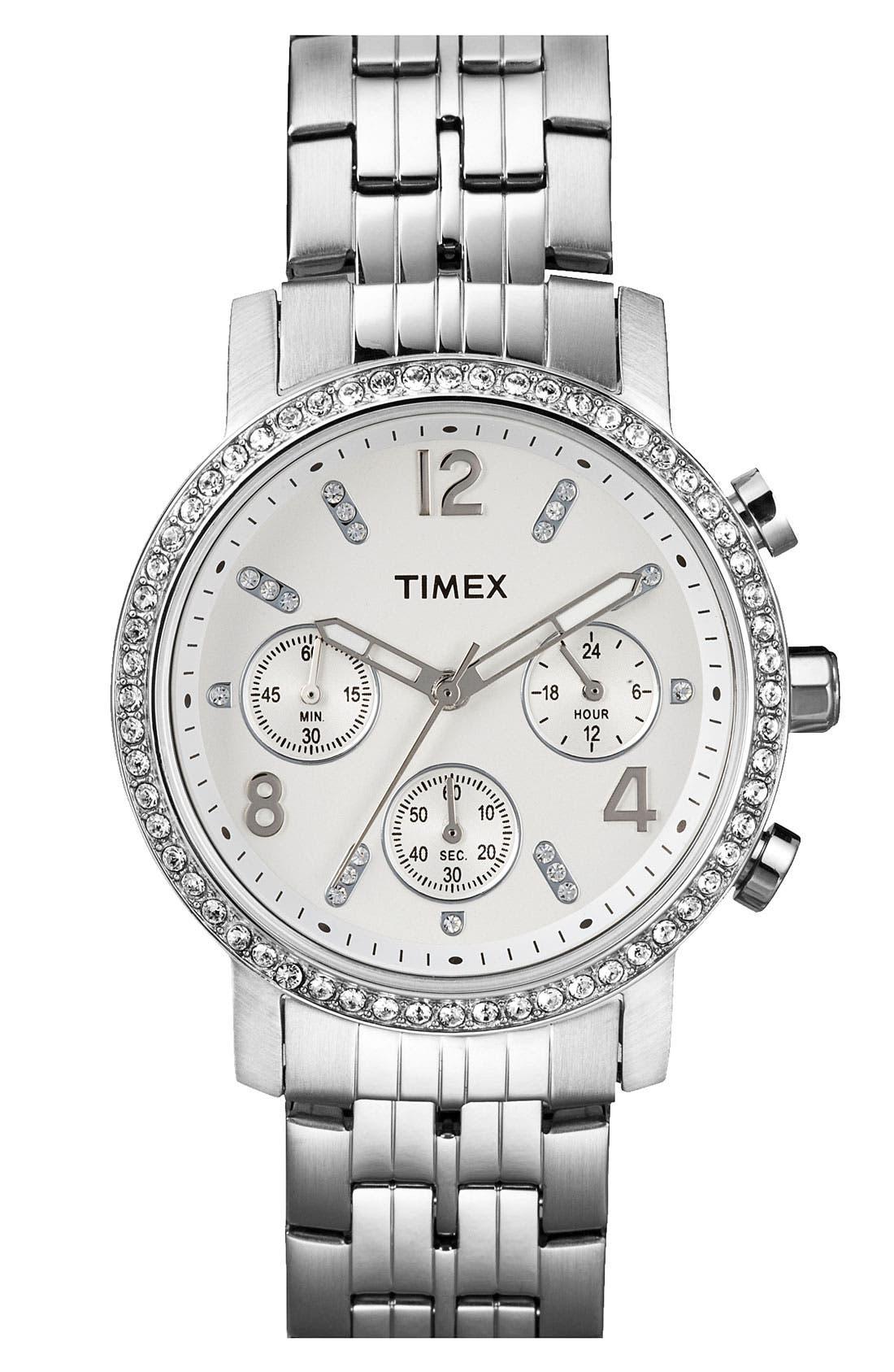 Alternate Image 1 Selected - Timex® Crystal Bracelet Watch