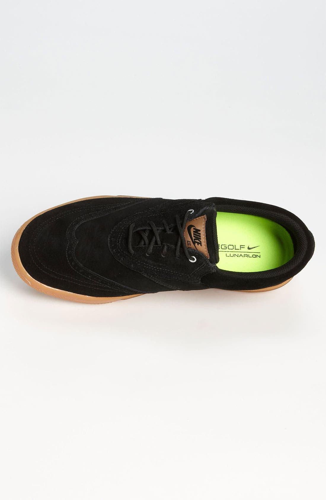 Alternate Image 3  - Nike 'Lunar Swingtip' Suede Golf Shoe (Men)