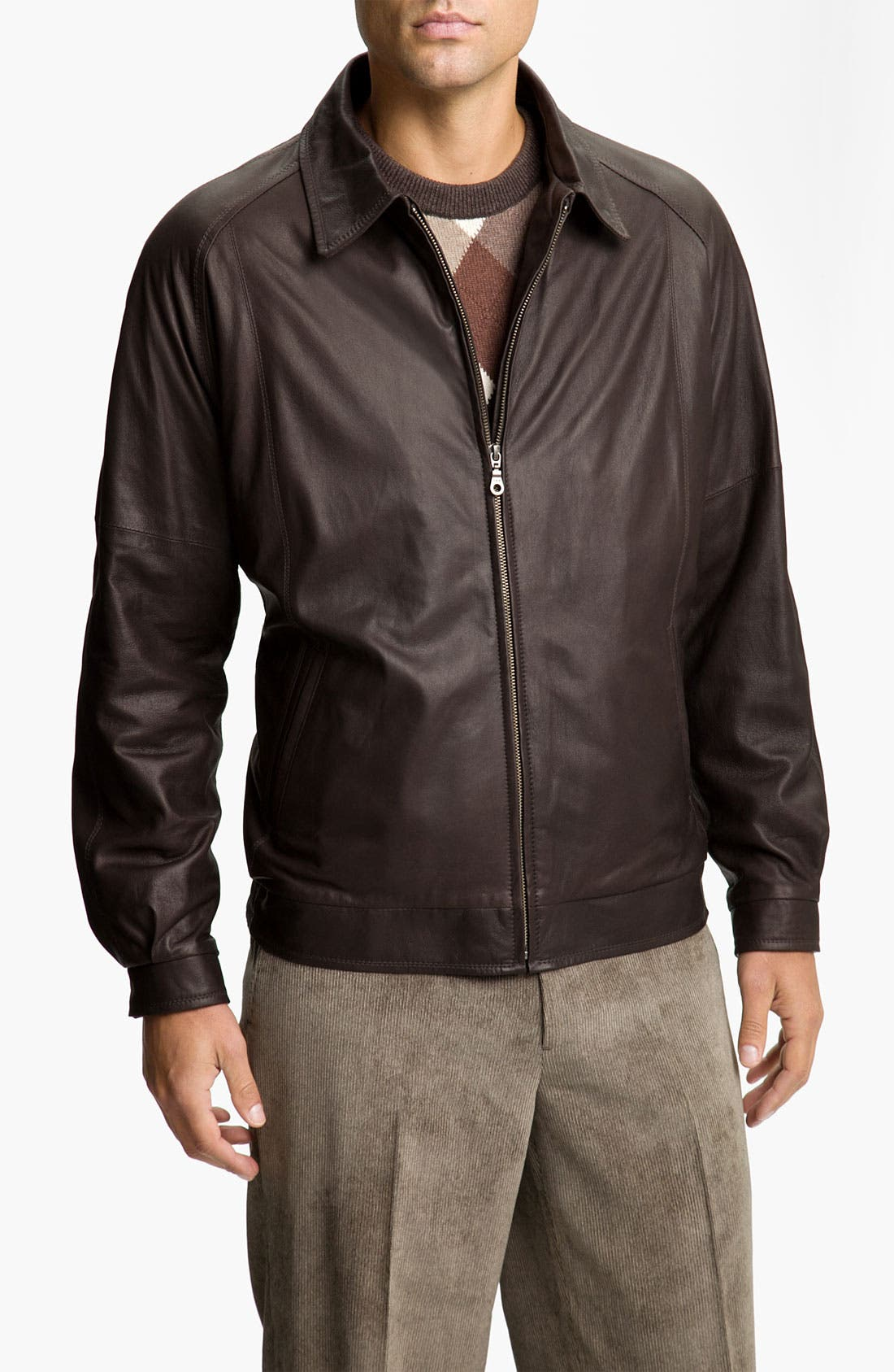 Alternate Image 1 Selected - Remy Leather 'Lite' Lambskin Leather Jacket