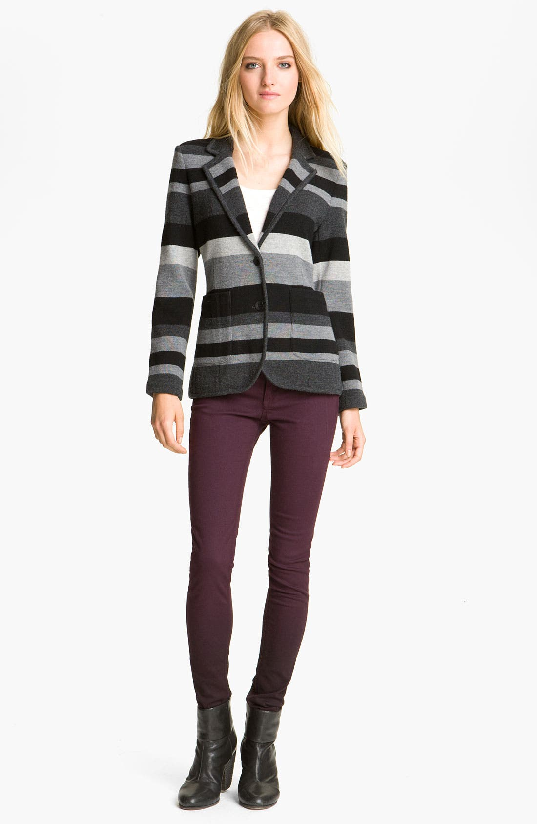 Alternate Image 1 Selected - rag & bone 'Lucy Stripe Bromley' Blazer
