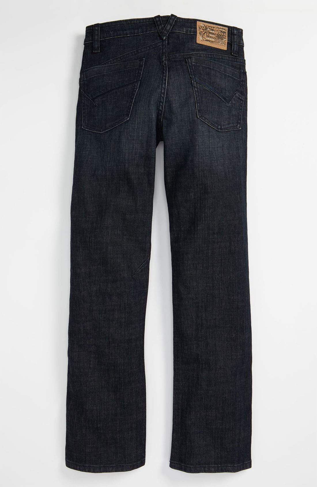 Alternate Image 1 Selected - Volcom 'Enowen' Straight Leg Jeans (Big Boys)