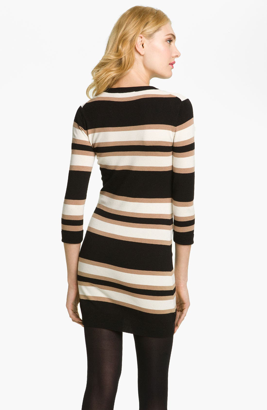 Alternate Image 2  - French Connection 'Bambi Knits' Multi Stripe Sweater Dress