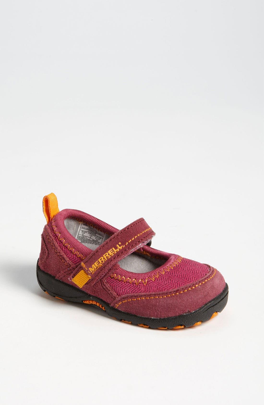 Alternate Image 1 Selected - Merrell 'Mimosa' Mary Jane Sneaker (Baby & Walker)