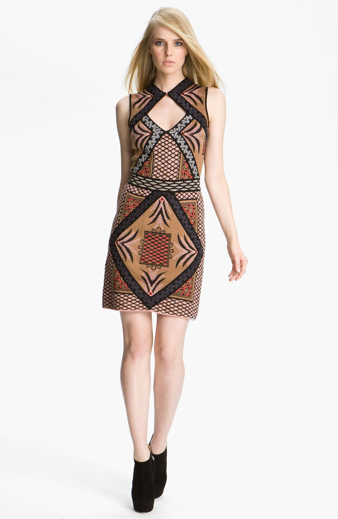 Main Image - M Missoni Intarsia Knit Dress