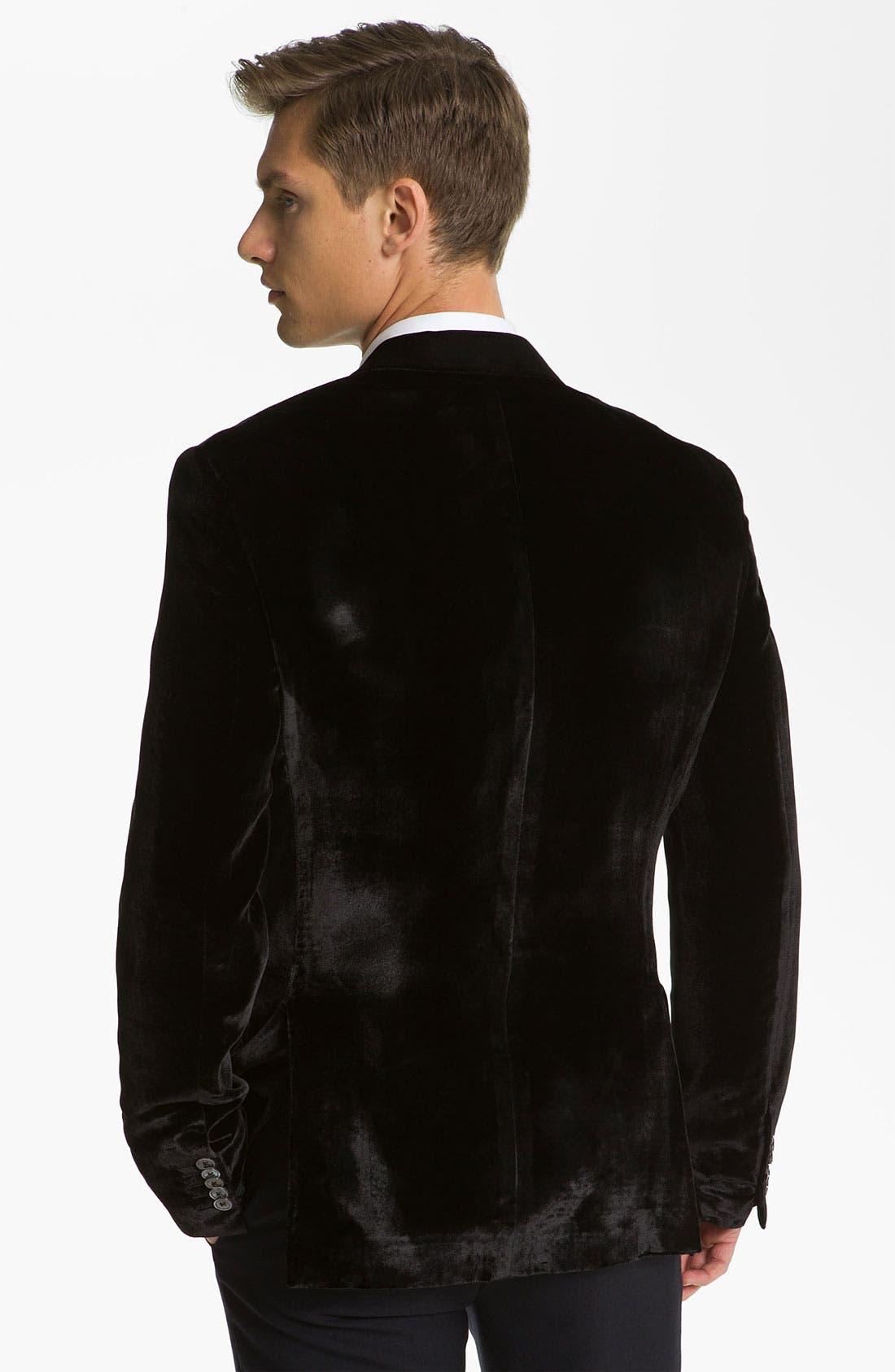 Alternate Image 2  - Paul Smith London Rayon & Silk Blazer