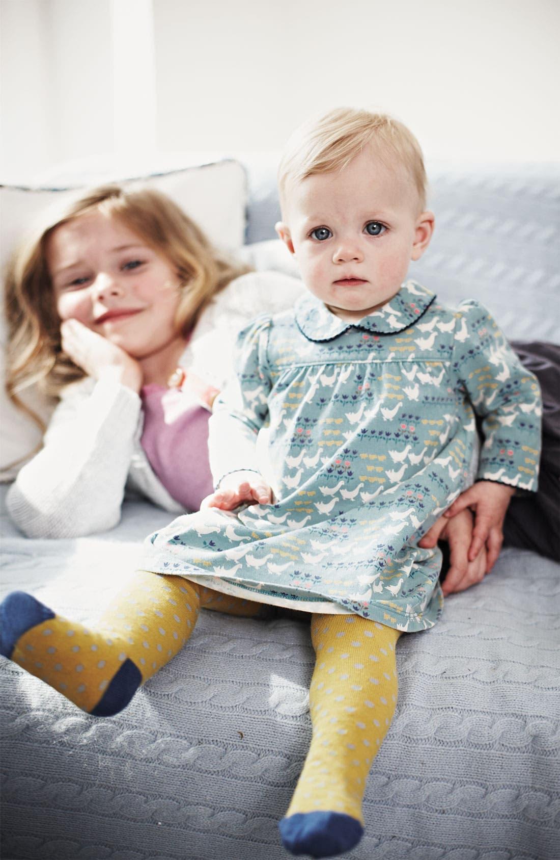 Alternate Image 2  - Mini Boden 'Pretty' Jersey Dress (Infant)