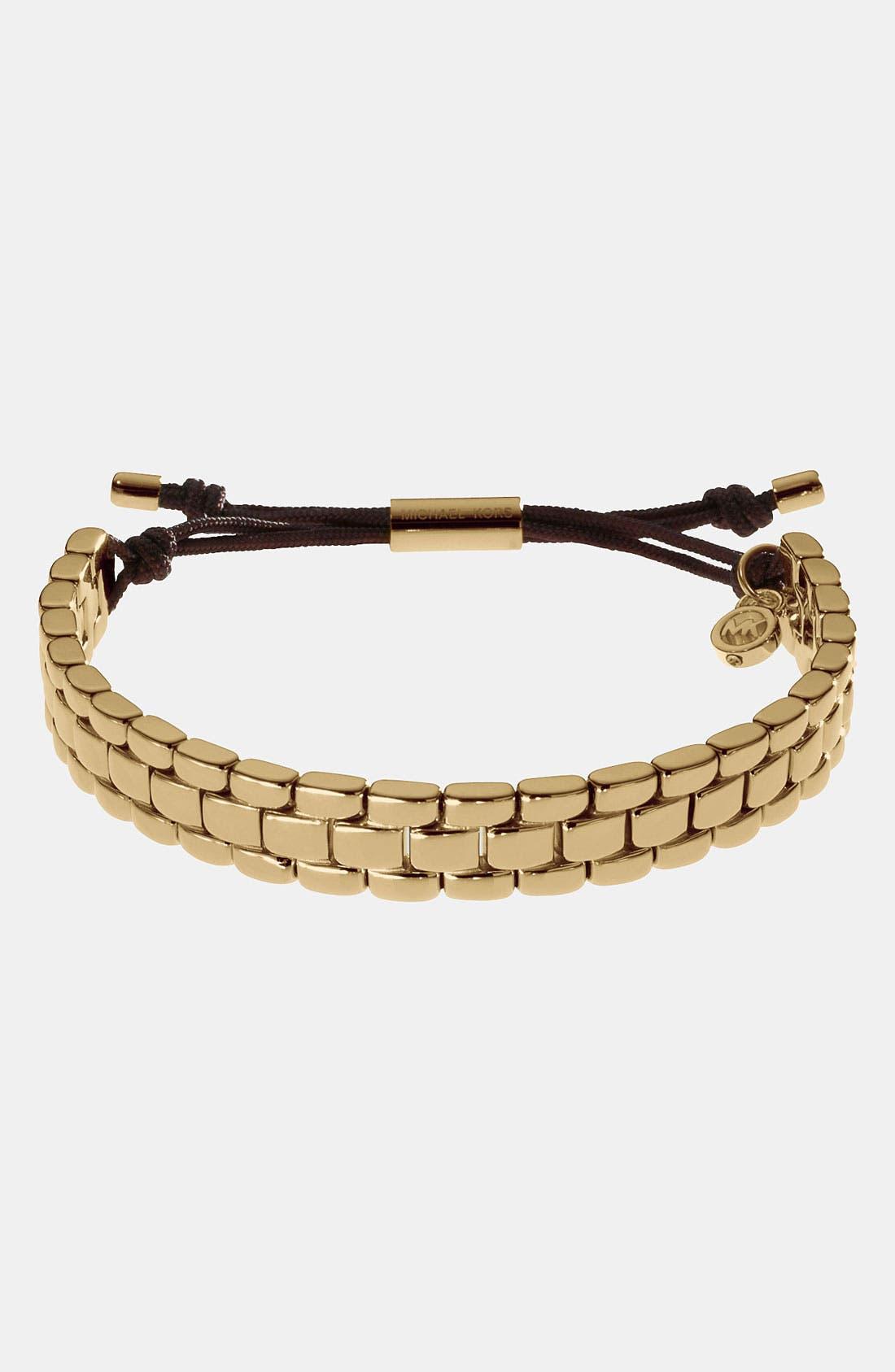 Alternate Image 1 Selected - Michael Kors Link Stretch Bracelet