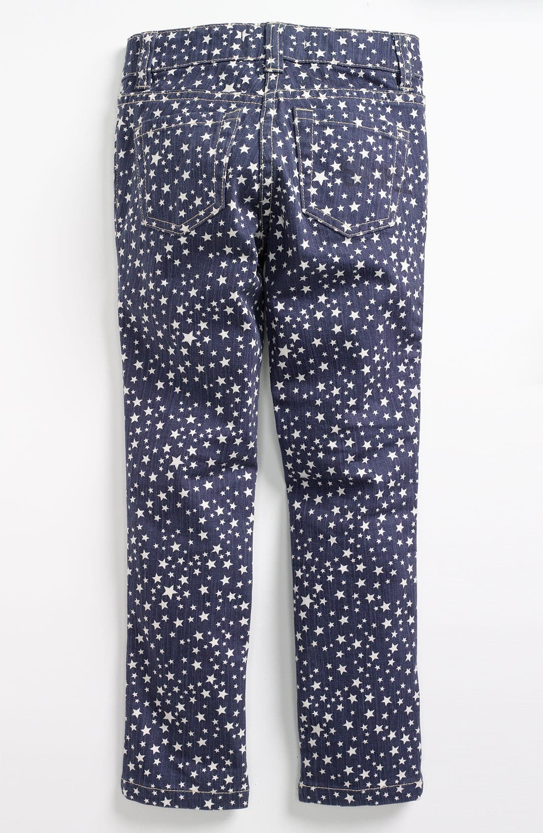 Alternate Image 1 Selected - Mini Boden Print Jeans (Toddler)