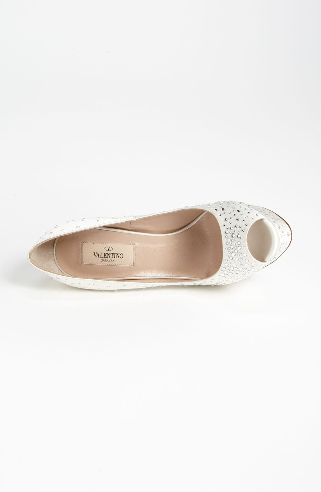 Alternate Image 3  - VALENTINO GARAVANI 'Bridal' Open Toe Pump