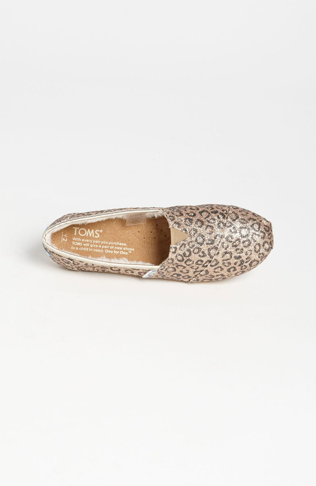 Alternate Image 3  - TOMS 'Classic Youth - Glitter' Print Slip-On (Toddler, Little Kid & Big Kid) (Nordstrom Exclusive)