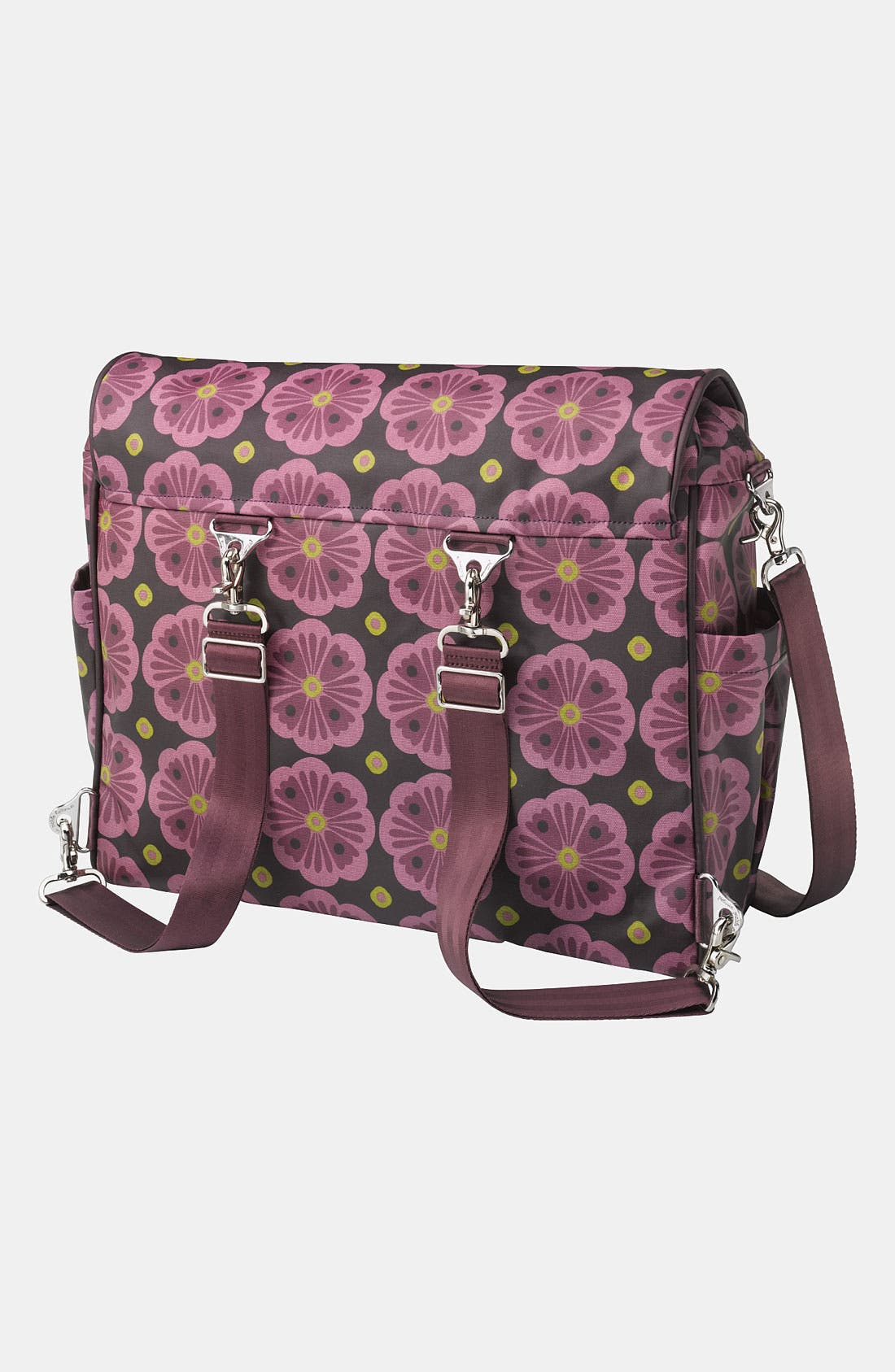 Alternate Image 4  - Petunia Pickle Bottom 'Abundance Boxy' Magnetic Closure Diaper Bag