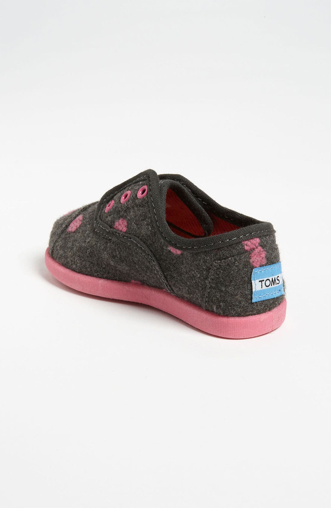 Alternate Image 2  - TOMS 'Cordones - Tiny' Wool Slip-On (Baby, Walker & Toddler)
