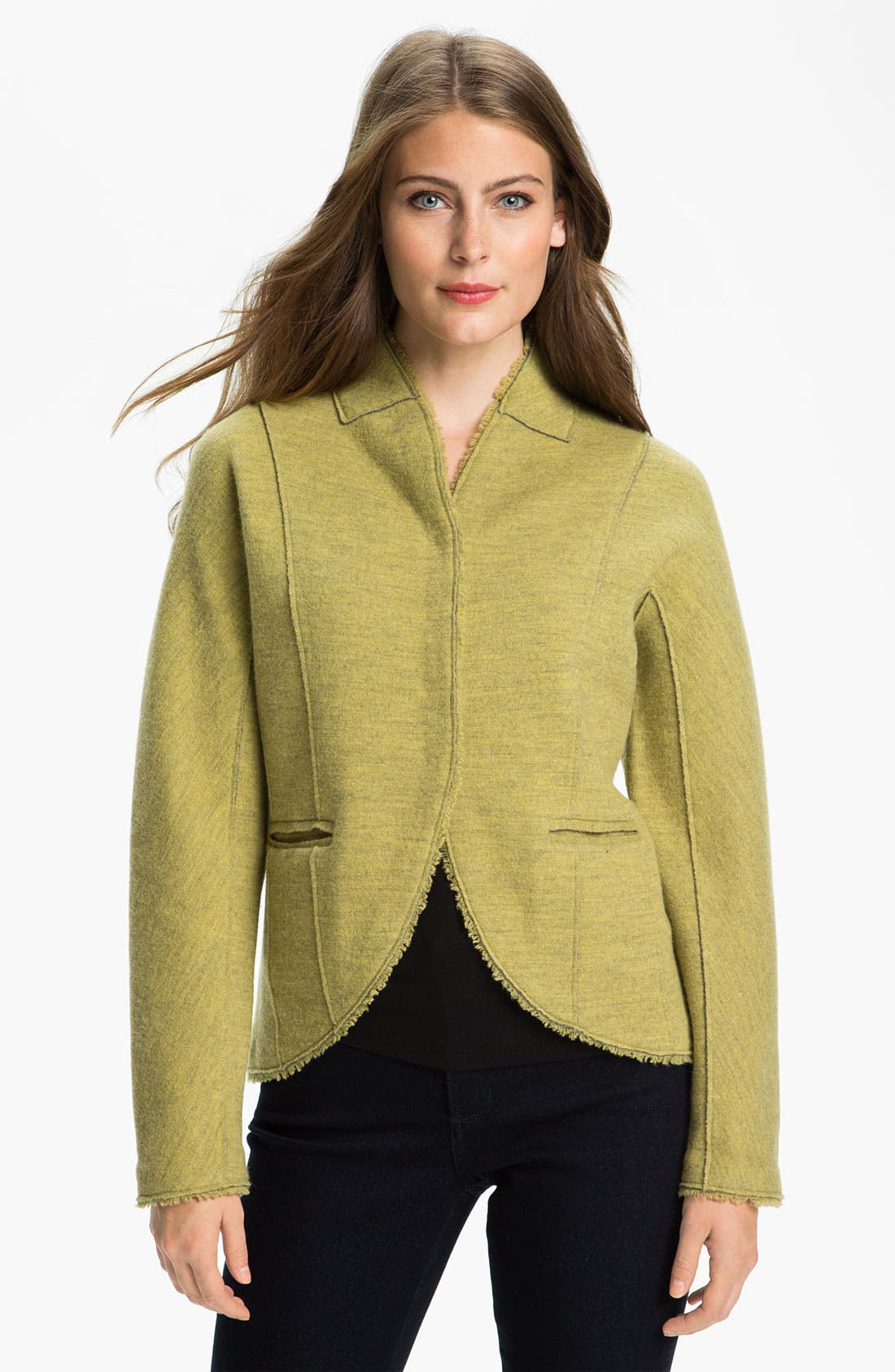 Alternate Image 1 Selected - Eileen Fisher Double Knit Jacket
