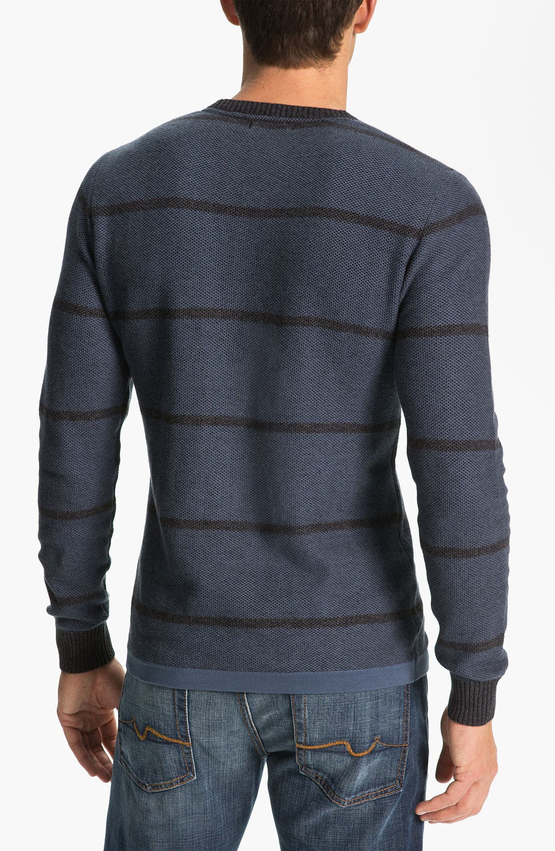 Alternate Image 2  - 7 For All Mankind® Plaited Knit Sweater