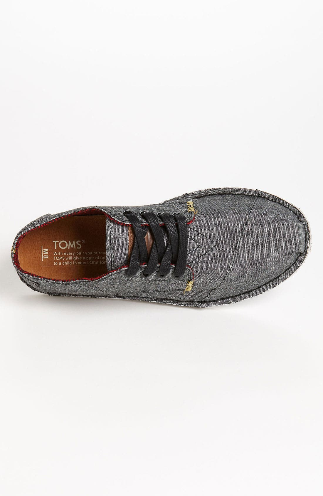 Alternate Image 3  - TOMS 'Desert' Chambray Oxford (Men)