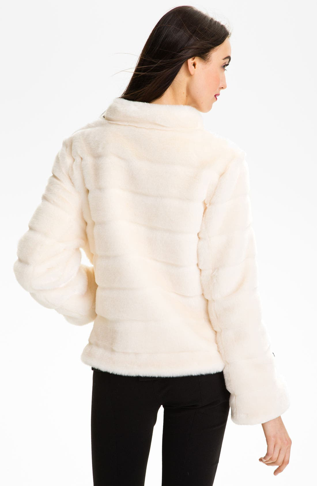 Alternate Image 2  - Kristen Blake Faux Fur Jacket
