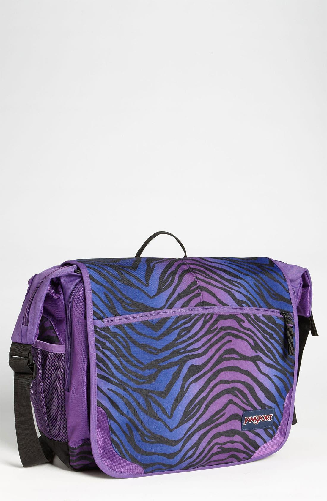 Alternate Image 1 Selected - Jansport 'Elephunk' Computer Crossbody Bag (15 inch) (Girls)