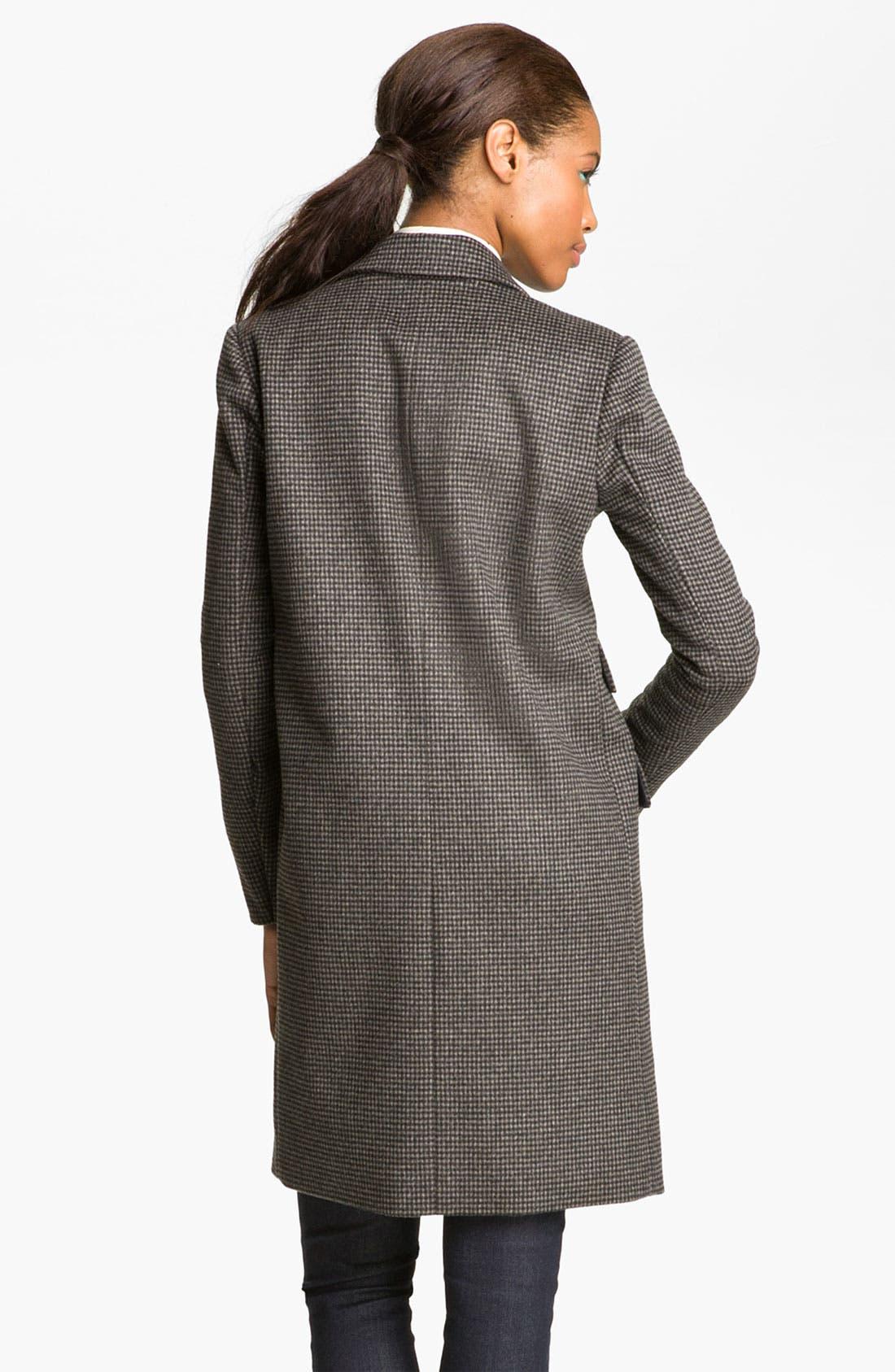 Alternate Image 2  - MARC BY MARC JACOBS 'Serge' Plaid Tweed Coat