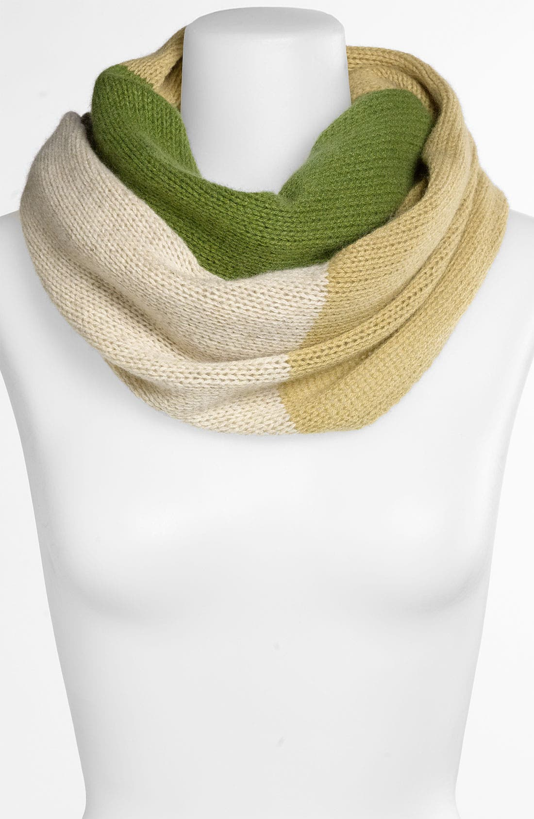 Alternate Image 1 Selected - Nordstrom Colorblock Cashmere Infinity Scarf