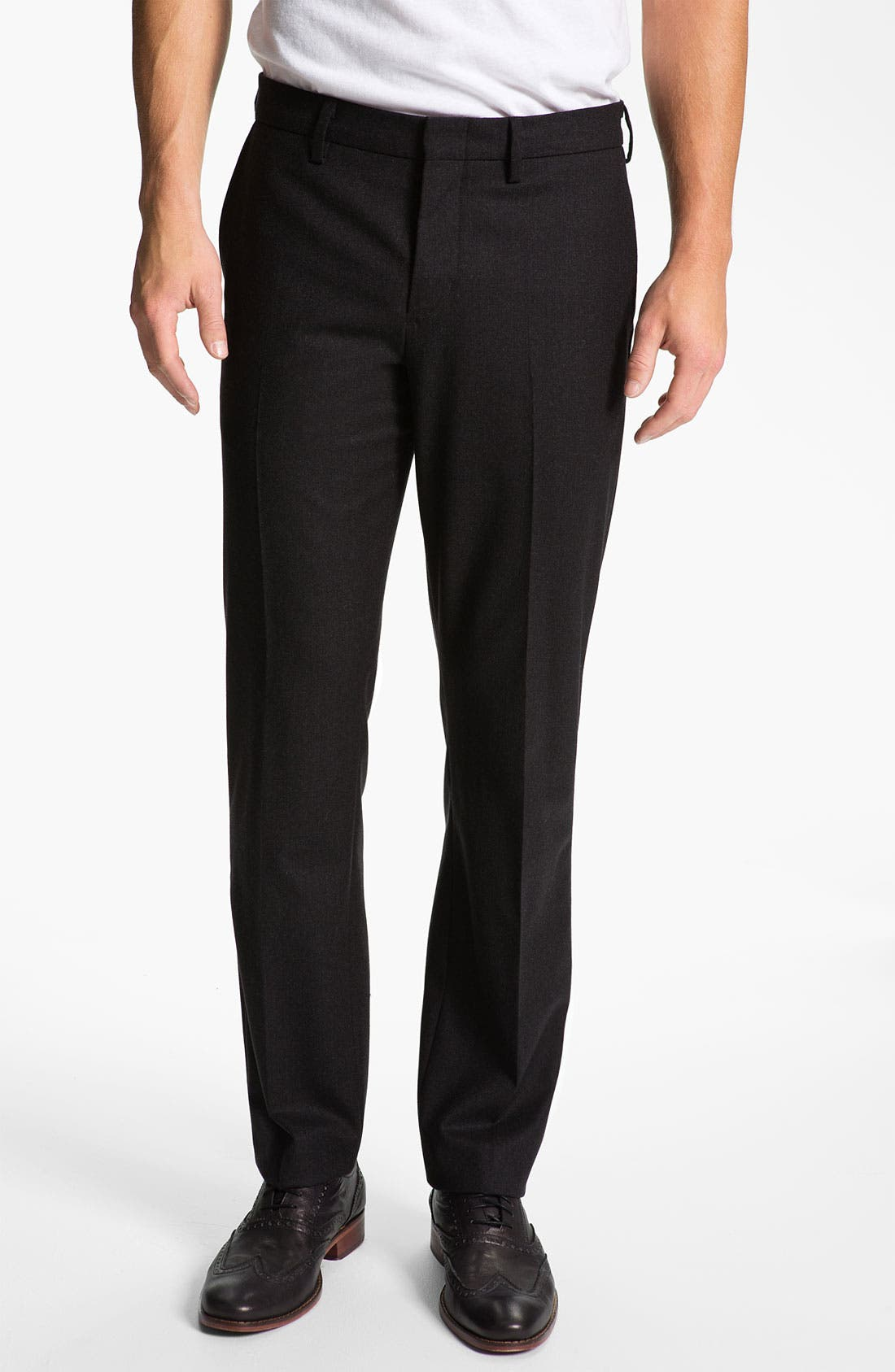 Alternate Image 1 Selected - Vince Slim Straight Leg Trousers