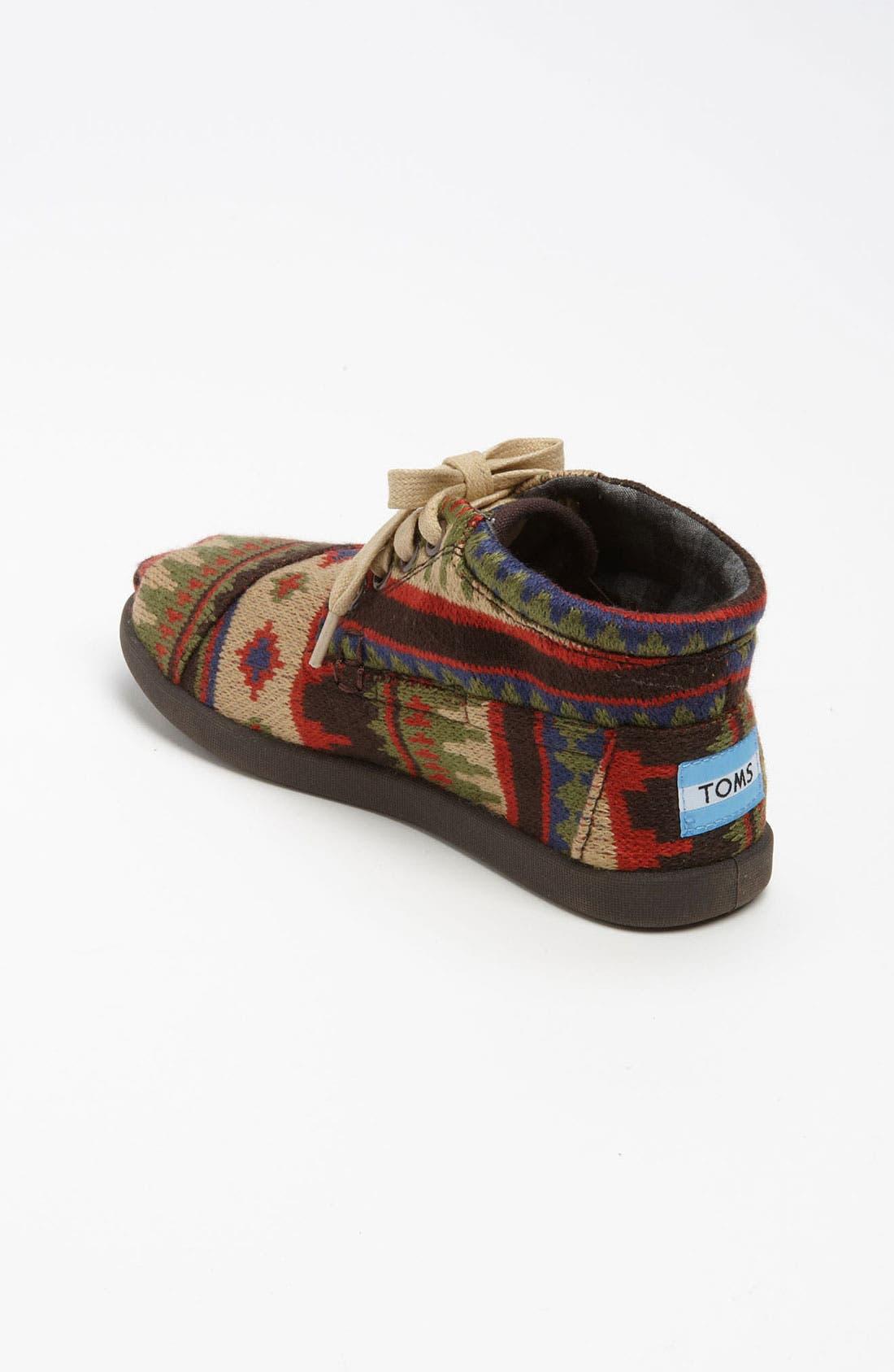 Alternate Image 2  - TOMS 'Botas Youth - Kilim' Boot (Toddler, Little Kid & Big Kid)