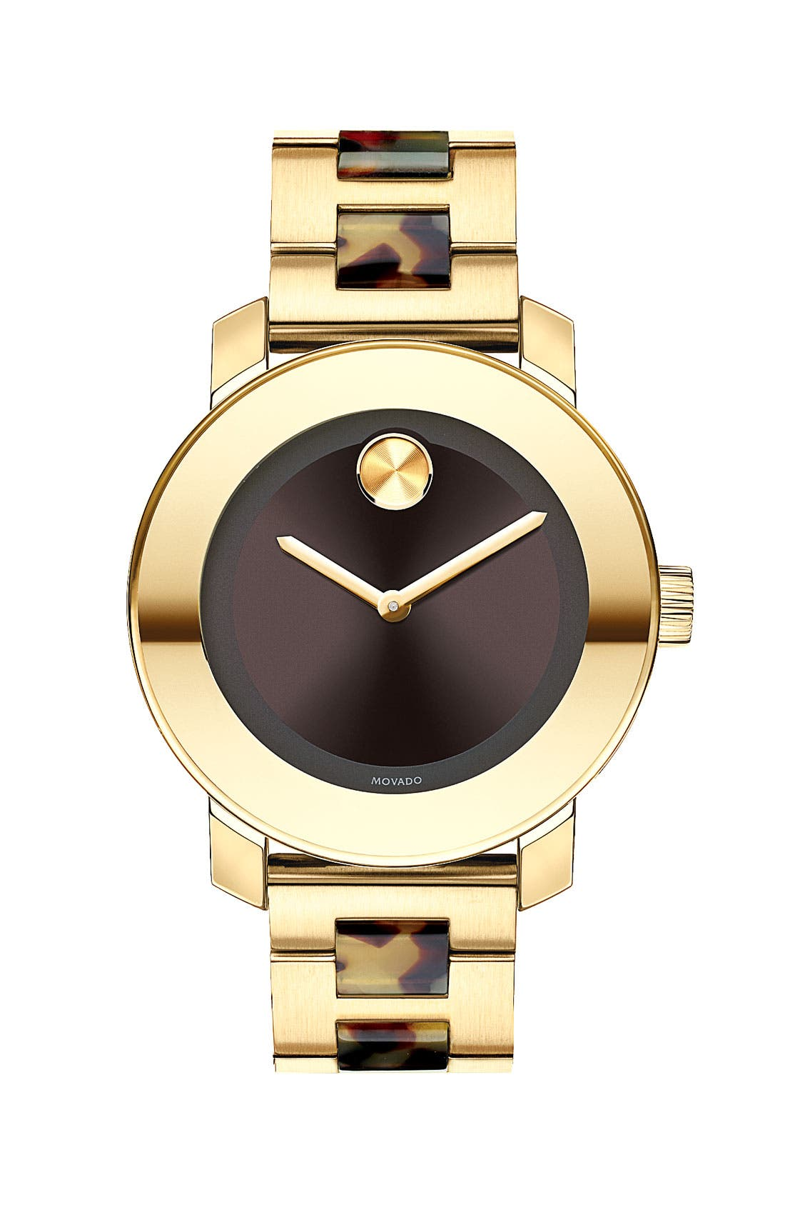 Main Image - Movado 'Bold' Round Bracelet Watch, 36mm