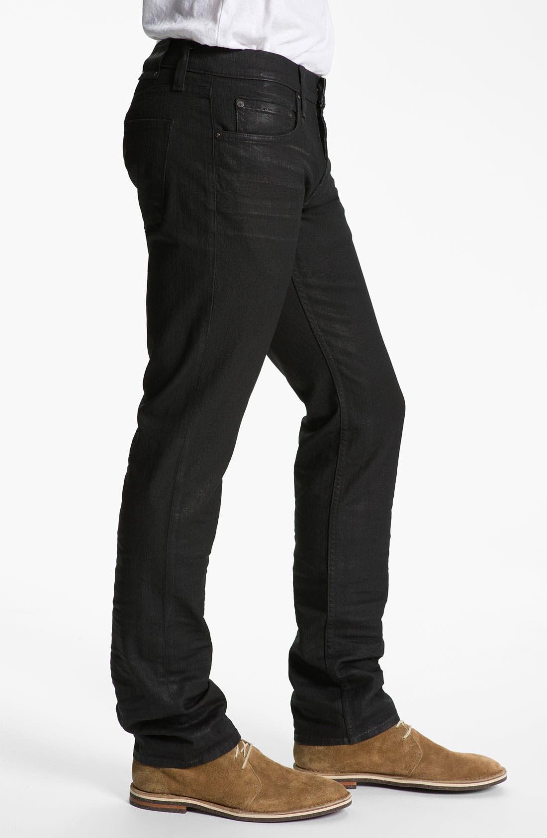 Alternate Image 3  - J Brand 'Kane' Slim Fit Jeans (Underground)