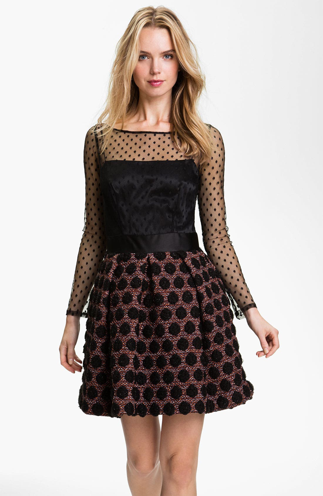 Alternate Image 1 Selected - Milly 'Desiree' Fit & Flare Dress