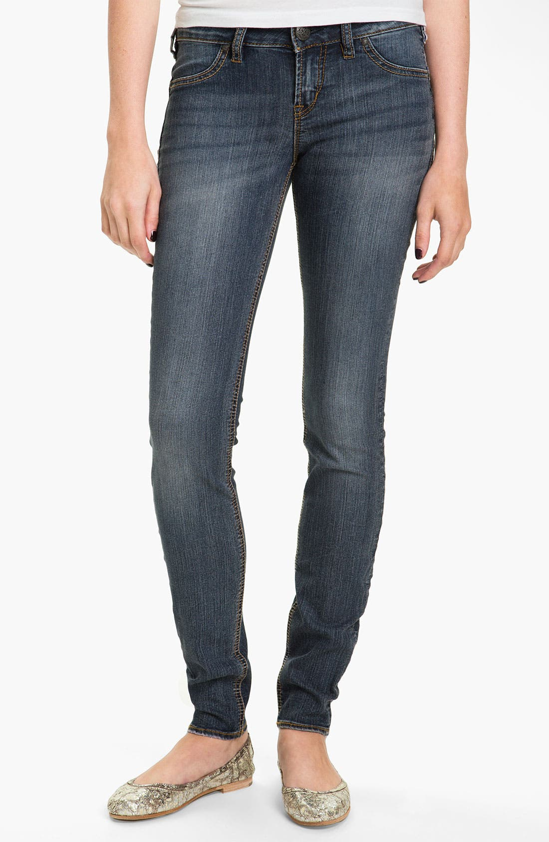 Alternate Image 2  - Silver Jeans Co. 'Camden Rose' Skinny Jeans (Juniors)