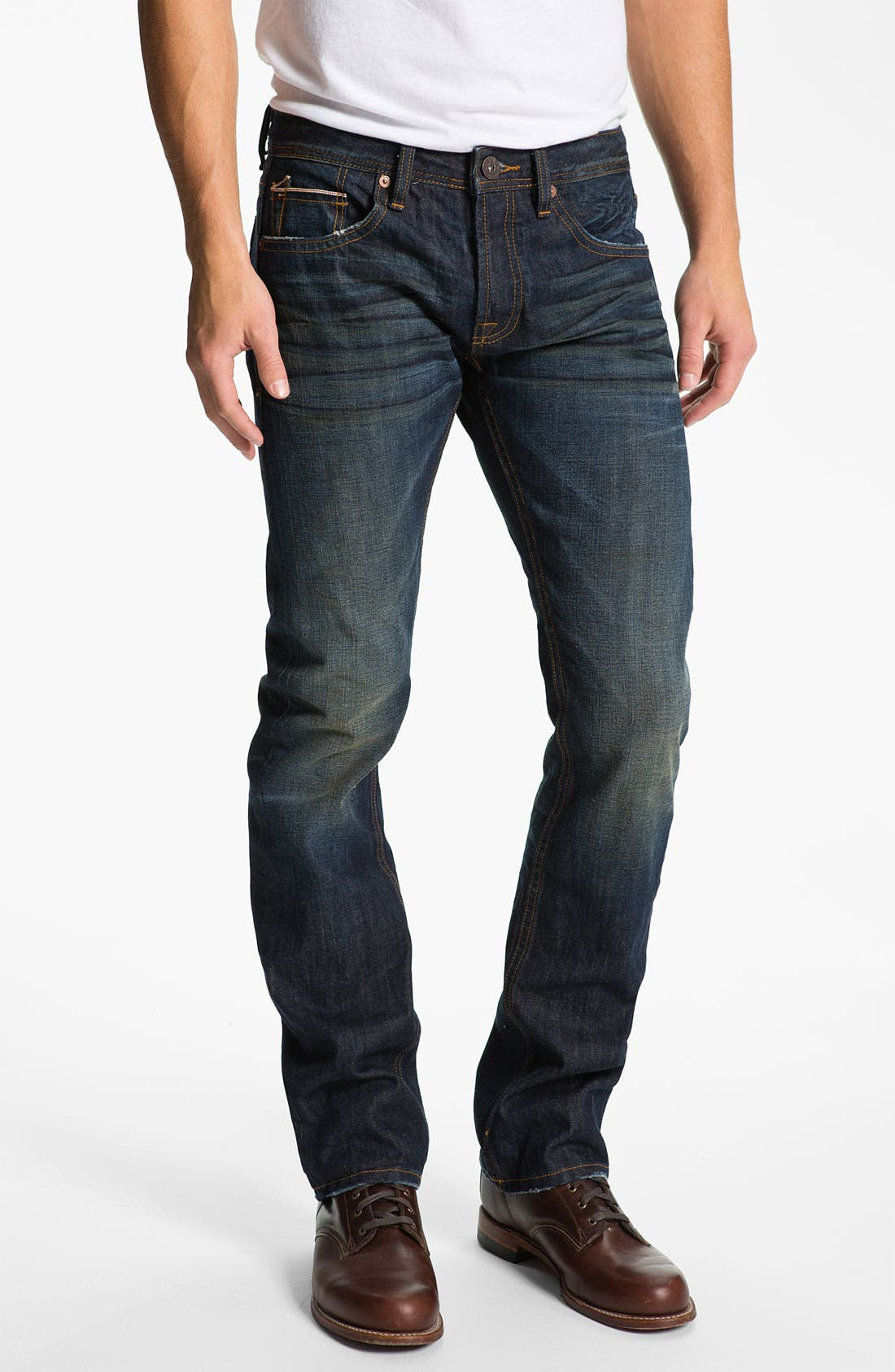 Alternate Image 2  - Cult of Individuality 'Revel' Straight Leg Jeans
